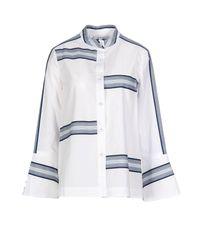 Camisa 10 Crosby Derek Lam de color White