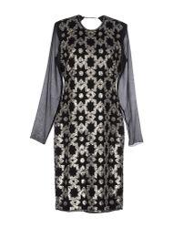 By Malene Birger | Black Knee-length Dress | Lyst