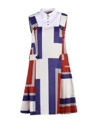 Suno | White Short Dress | Lyst