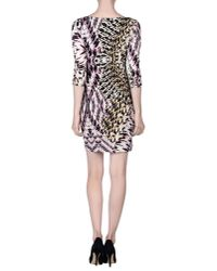Just Cavalli - White Short Dress - Lyst
