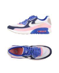 Nike Blue Low-tops & Sneakers