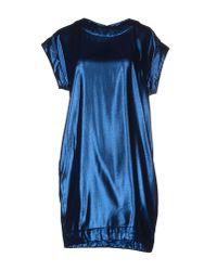 Mauro Grifoni | Blue Short Dress | Lyst