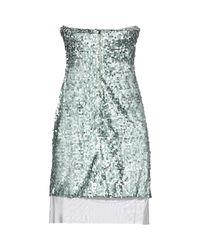 Annarita N. - Blue Short Dress - Lyst