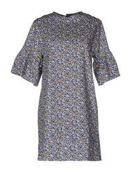 Con Dentro Le Parole By Laviniaturra | Blue Short Dress | Lyst