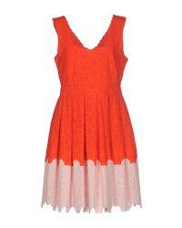 Manoush   Red Short Dress   Lyst