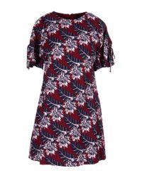Thakoon | Red Short Dress | Lyst
