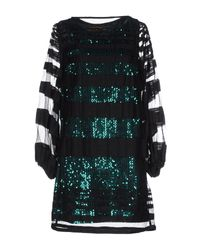 Space Style Concept | Green Short Dress | Lyst