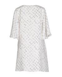 Elisabetta Franchi - Black Short Dress - Lyst