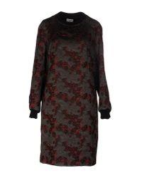 Dries Van Noten Multicolor Short Dress