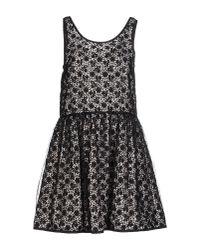 RED Valentino | Black Short Dresses | Lyst