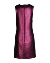 Christopher Kane Pink Short Dress