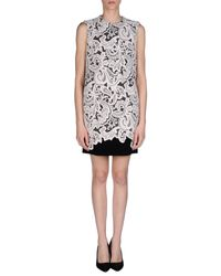 Mary Katrantzou - Pink Short Dress - Lyst