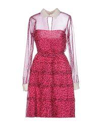 Valentino Multicolor Short Dress