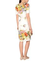 Dolce & Gabbana - White Lemon Print Dress - Lyst