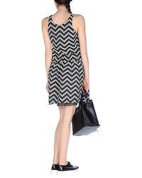 Armani - Black Short Dress - Lyst