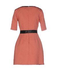 Betty Blue Multicolor Short Dress
