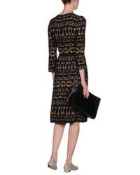 Dolce & Gabbana - Black Knee-length Dress - Lyst
