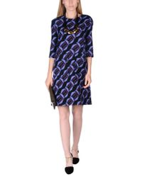 Marni | Black Short Dress | Lyst