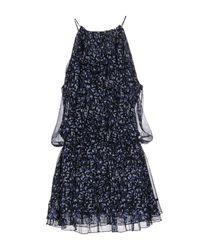 Elizabeth and James Black Short Dress