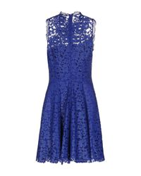 Liu Jo - Blue Short Dress - Lyst