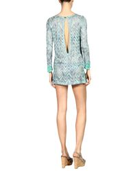 Missoni Green Cover-up
