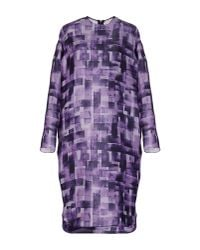 Marni | Purple Knee-length Dress | Lyst