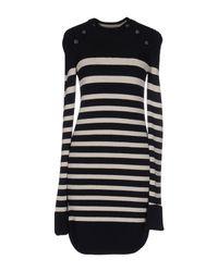 Isabel Marant - Blue Haeza Striped Wool Blend Dress - Lyst