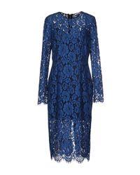 Veronica Beard | Gynne Pencil Dress - Blue | Lyst