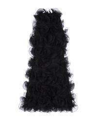 Emporio Armani - Black Short Dress - Lyst