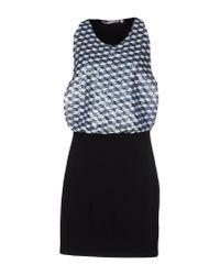 Silvian Heach Black Short Dress