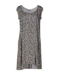 Ottod'Ame - Black Short Dress - Lyst
