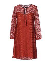 Marella Red Short Dress
