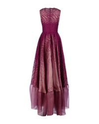 Antonio Berardi Purple Long Dress