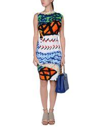 Vivienne Westwood Anglomania Orange Knee-length Dress