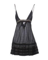 John Richmond Black Short Dress