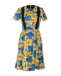 Marc By Marc Jacobs | Yellow Knee-length Dress | Lyst