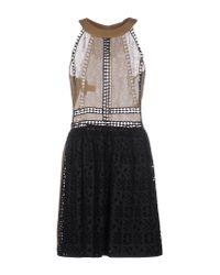 Alberta Ferretti Multicolor Knee-length Dress