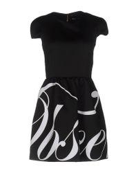 Marco Bologna Black Short Dress