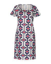 Camicettasnob Blue Short Dress