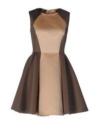 Elisabetta Franchi Natural Short Dress