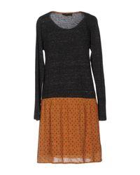 Indi & Cold Gray Short Dress