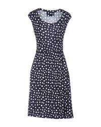 Prada - Black Short Dress - Lyst