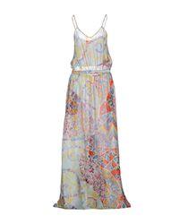 Emilio Pucci | Blue Long Dress | Lyst