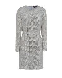 A.P.C. - Gray Short Dress - Lyst