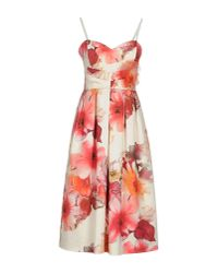 Rinascimento White 3/4 Length Dress