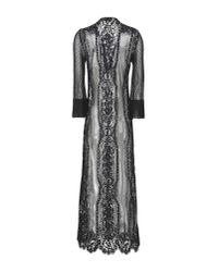 Soallure - Black 3/4 Length Dress - Lyst