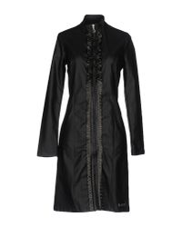 Met | Black Short Dress | Lyst