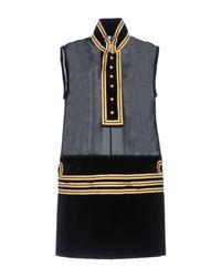 DSquared² - Black Short Dress - Lyst
