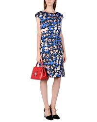 Marni - Blue Knee-length Dress - Lyst