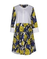 Beatrice B. White Short Dress